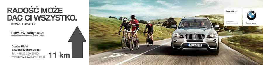 BMW Radość może dać Ci wszystko - billboard